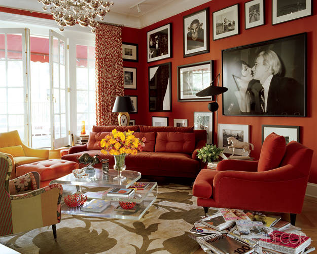 living room archives red ostelinda red wall living room photo